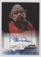 Mike Quinn as Nien Nunb #/10