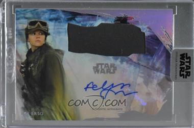 2018 Topps Star Wars: Stellar Signatures - Autographed Source Material #AR-J - Felicity Jones as Jyn Erso /37 [Uncirculated]