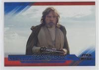 Facing Luke Skywalker