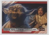 Yoda and Luke's Lesson