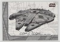 Millennium Falcon /25