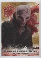 Supreme Leader Snoke #/50