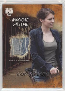 2018 Topps The Walking Dead Road to Alexandria - Relics - Rust #R-MG - Maggie Greene /99