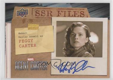 2018 Upper Deck Agent Carter - SSR Files Autos #SSR-HA - Hayley Atwell