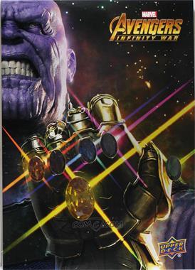 2018 Upper Deck Avengers Infinity War - MCU Marathon Infinity Gauntlet Relic Achievements #IGL - Infinity Gauntlet 5 x 7