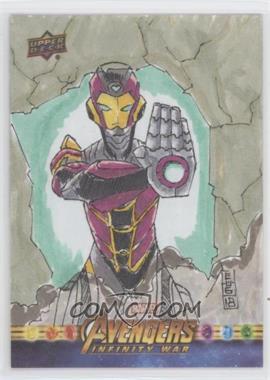 2018 Upper Deck Avengers Infinity War - Sketch Cards #SKT - Holden Leung