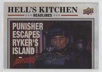Punisher Escapes Ryker's Island