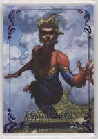 Captain Marvel #/199