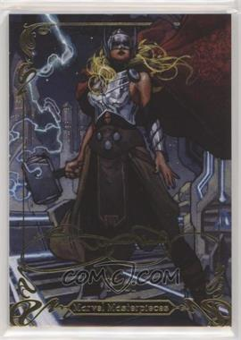 2018 Upper Deck Marvel Masterpieces - [Base] - Gold #68 - Level 3 - Thor