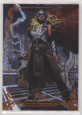 2018 Upper Deck Marvel Masterpieces - [Base] - Legendary Orange #68 - Thor /99