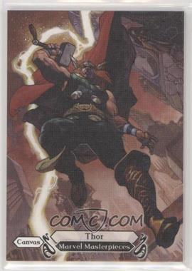 2018 Upper Deck Marvel Masterpieces - [Base] #93 - Canvas Gallery - Thor