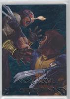 Cyclops vs. Wolverine #/99