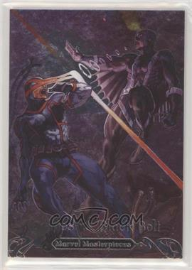 2018 Upper Deck Marvel Masterpieces - Battle Spectra #BS-15 - Cyclops vs. Black Bolt