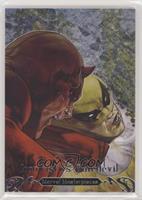 Iron Fist vs. Daredevil