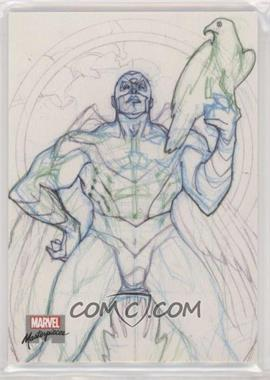 2018 Upper Deck Marvel Masterpieces - Preliminary Art #PA16 - Falcon