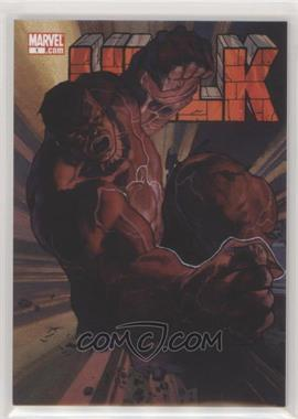 2018 Upper Deck Marvel Masterpieces - What If #WI-47 - Level 2 - Red Hulk /999