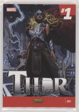 2018 Upper Deck Marvel Masterpieces - What If #WI-68 - Level 3 - Thor /499
