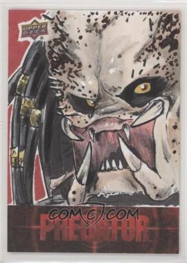 2018 Upper Deck Predator - Sketch Card Achievements #SKT - Ryan Finley