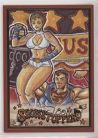 Superman and Power Girl