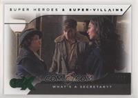 Wonder Woman - What's A Secretary? #/30