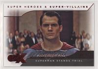 Batman v Superman - Superman Stands Trial #/80