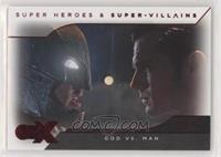 Batman v Superman - God Vs. Man #/80