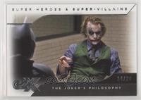 The Joker's Philosophy #/20