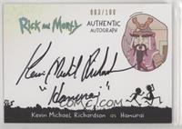Kevin Michael Richardson as Hamurai [EXtoNM] #/100