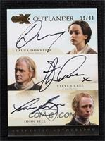 Laura Donnelly as Jenny Murray, Steven Cree as Ian Murray, John Bell as Young I…
