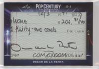 Oscar de la Renta /1
