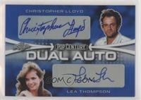 Christopher Lloyd, Lea Thompson #/12