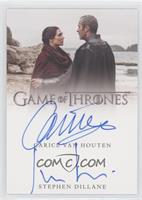 Carice Van Houten as Melisandre, Stephen Dillane as Stannis Baratheon