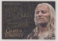 Michael Feast as Aeron Greyjoy
