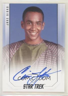 2019 Rittenhouse Star Trek InfleXions: Starfleet's Finest - Bridge Crew Autographs #CILO - Cirroc Lofton as Jake Sisko