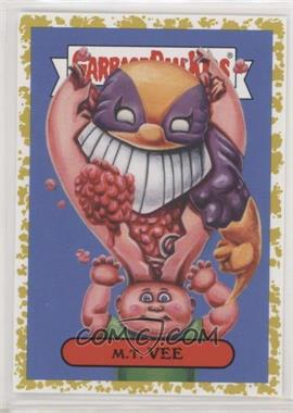2019 Topps Garbage Pail Kids: We Hate the '90s - '90s Cartoons & Comics Sticker - Fool's Gold #7a - M.T. Vee /50