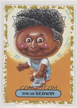 2019 Topps Garbage Pail Kids: We Hate the '90s - '90s Fashion Sticker - Fools Gold #7b - Sneak Kerwin /50