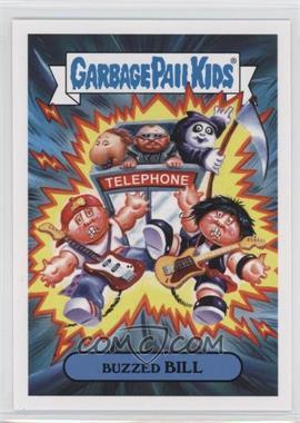 2019 Topps Garbage Pail Kids: We Hate the '90s - '90s Films Sticker #1a - Buzzed Bill