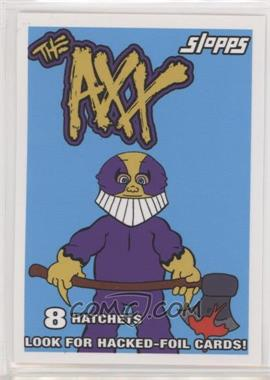 2019 Topps Garbage Pail Kids: We Hate the '90s - '90s Wax Pack Parody Stickers #10 - The Axx