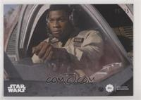 Series Two - John Boyega as Finn [EX to NM] #/75