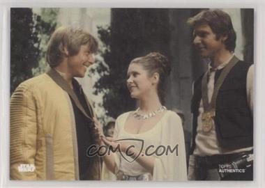 2019 Topps Star Wars Authentics Coupons - [Base] #LLH - Luke Skywalker, Princess Leia Organa, Han Solo