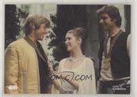 Luke Skywalker, Princess Leia Organa, Han Solo