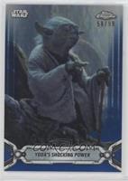 Yoda's Shocking Power /99