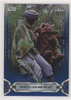 Princess Leia and Wicket #/99