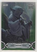 Yoda's Shocking Power #/50