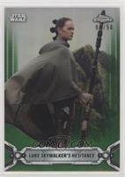 Luke Skywalker's Hesitance /50