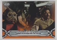 Lando Calrissian and the Falcon [EX to NM] #/25