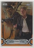 Han and Chewie Return #/25