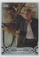 Han and Chewie Return