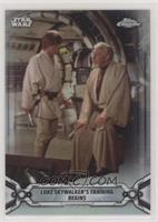 Luke Skywalker's Training Begins