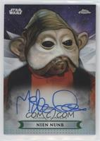 Mike Quinn as Nien Nunb #/50